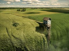 Erik Johansson - click to watch the video of how he makes these amazing pieces of art!