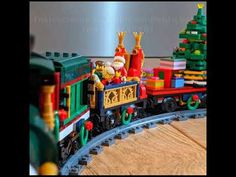 A comment suggested having a version of my Lego Christmas Train, Holiday Train, Lego Winter, Train Set, Winter Holidays, Legos, Lego, Winter Vacations, Logos