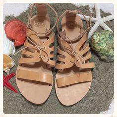 Genuine Greek Leather Sandals ''Artemis'' by BohemianFootprints