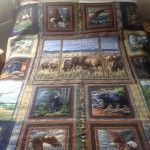 American wildlife quilt Wildlife Quilts, Projects To Try, Ann, Quilting, Fish, American, House Styles, Gallery, Pictures