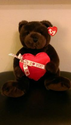 0c03af8b127 TY Classic Sweeten The Bear Mint Tags Retired Valentines Day Plush Ebay  Listing