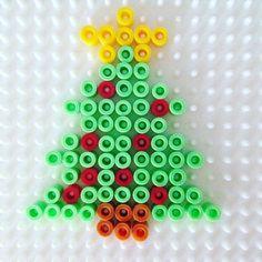 Christmas tree hama beads by  theworkingmum