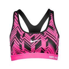293cb5f34e Nike Pro Padded Bra Women s (€40) ❤ liked on Polyvore featuring activewear