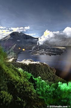 ✯ Mount Rinjani, Indonesia