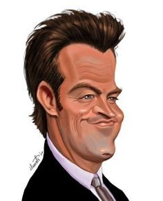 Matthew Perry (by tobo) A recovering member of AA Cartoon Faces, Funny Faces, Cartoon Art, Funny Caricatures, Celebrity Caricatures, Celebrity Drawings, Caricature Artist, Caricature Drawing, Matthew Perry