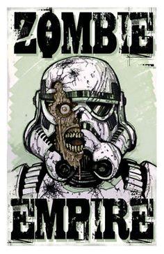 Star Wars: Zombie Empire by ~adventurevisual on deviantART Starwars, Dark Vader, What Rhymes, Evil Dead, Zombie Art, Zombie Pics, Love Stars, Star Wars Art, Zombie Apocalypse