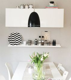 Monochrome magic | Anja's dining area | Living in Germany | live from IKEA FAMILY