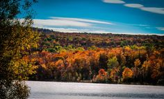 Enjoying photographing the fall foliage in upstate New York