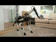 SpotMini, A New All-Electric Robot by Boston Dynamics That Resembles a Small Brontosaurus