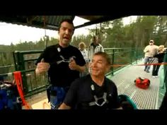 Rick Mercer Report: Rick Hansen Bungee Jump. Funny clip from an awesome show. I wish I had his job....