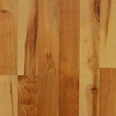 Style Selections 8.07-in x 47.64-in Hudson Bay Maple Laminate Flooring | Lowe's Canada   8mm  $1.00 sq ft