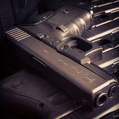 Glock 19's.