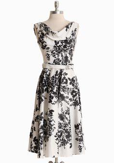 Leading Lady Flower Print Dress By Unique Vintage | Modern Vintage Elegant Florals