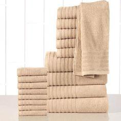 Dimora Collection Decorative Bath Towels 8 pieces set Turkish Cotton 600gsm