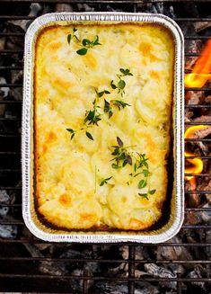 Til og med de fløtegratinerte potetene! Grilling, Ethnic Recipes, Food, Pineapple, Crickets, Essen, Meals, Yemek, Eten