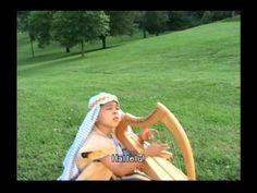 Gospel Bible Songs - Little David, play on your harp [with lyrics]