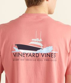 Feel Good Yacht Pocket T-Shirt - Vineyard Vines. maybe a blue color