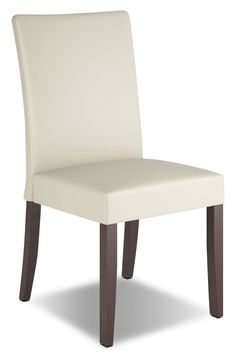 Atwood Faux Leather Dining Chair, Set of 2 – Cream Now $349.00 Limited Time Only