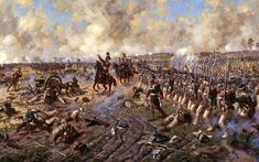 The Battle of Eylau or Battle of Preussisch-Eylau, 7 and 8 February 1807, was a bloody and inconclusive battle between Napoléon's Grande Armée and a Russian Empire army under Levin August, Count von Bennigsen near the town of Eylau in East Prussia