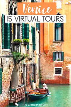 Here's my armchair travel guide to the beautiful city of Venice Italy. Via 15 virtual tours, you can virtually visit Venice's famous landmarks and museums from your couch or computer. La Serrenissima is one of the world's most magical cities. No other place looks anything like it. With vicarious travel, you can glide down its picturesque canals from home and admire the crumbling palazzos and winding lanes. #Venice #Italy #ThingsToDoInVenice #VirtualTours #staycation #homeschool Virtual Travel, Virtual Tour, Ultimate Travel, Venice Travel, Rome Travel, Italy Travel Tips, Travel Info, Travel Guides, Australia Destinations