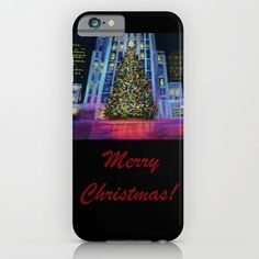 Christmas in Manhattan-Merry Christmas DP150902c iPhone & iPod Case