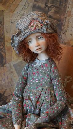 Купить Пегги. Коллекционная авторская кукла. - кукла ручной работы, единственный экземпляр, кукла в подарок