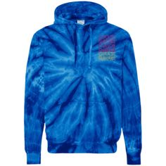 Go To Heaven - Tie-Dyed Pullover Hoodie Pullover Hoodie, Tie Dye Hoodie, Tie Dye T Shirts, School Ties, Tie Dyed, Hoodies, Sweatshirts, Color Combinations, Hooded Jacket
