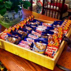Baseball party concessions for the food (individual bags) would be great for transport to the ball diamond! Baseball Party, Baseball Food, Softball Party, Baseball Treats, Baseball Kids, Sports Birthday, Sports Party, First Birthday Parties, Boy Birthday