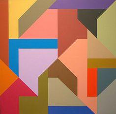 Karl Benjamin - #1, 1989