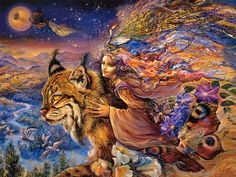 pictures of fantasy | Art Of Imagination : Mystical Fantasy Paintings of Josephine Wall 1024 ...