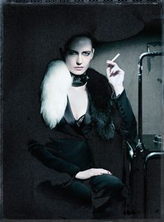 Eva Green by Paolo Roversi