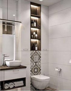 ✔ modern bathroom design ideas plus tips 27 > Fieltro.Net Modern Bathroom Design Ideas Plus Contemporary Bathroom Designs, Modern Bathroom Decor, Bathroom Layout, Modern Bathroom Design, Bathroom Interior Design, Small Bathroom, Bathroom Ideas, Bathroom Vanities, Bathroom Cabinets