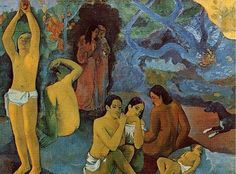 """""""Where Do We Come From? What Are We? Where Are We Going?"""" (1897) right half 
