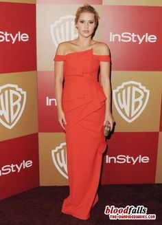 Claire Holt at In Style #GoldenGlobes After Party #VampireDiaries #TVD via @xVampDiariesx