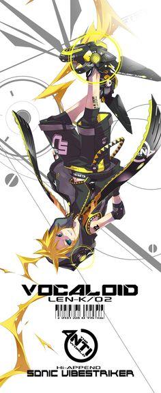 Kagamine Len | Vocaloid #digital #singer #anime