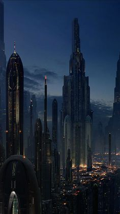 50 Futuristic City iPhone Wallpapers