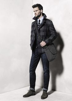 H.E. by Mango Taps Tomas Skoloudik for its November 2012 Lookbook