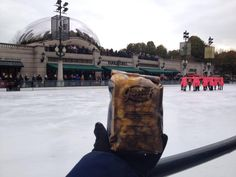 #HappyFriday at Millennium Park ice skating rink! #GarrettPopcorn