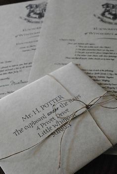 Personalized Harry Potter Letter - Hogwarts Acceptance Letter (Includes FREE Ticket to Ride on Hogwarts Express)