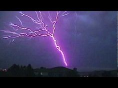 Amazing Upward Lightning!:  It's existence has been known since the 1930's but this is the first time it has been captured on film.