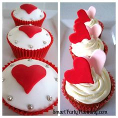 Valentines Cupcake Decorating Ideas | Cake Decorations | Pinterest | Cake, Cup  Cakes And Cups
