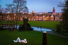 Arnhem vanaf de Stadsvilla Sonsbeek.
