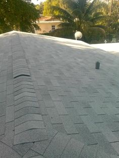 Here we have a completed GAF Royal Sovereign Silver Lining roof