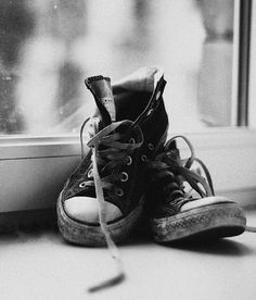Knackered converse! Makes me think of 'A certain romance' by Arctic Monkeys...