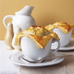 At her restaurant, Christina's, Christina Reid-Orchid celebrates spring with these potpies topped with flaky puff pastry and filled with the best fres...
