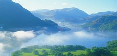 Spend time in the Lake District in the UK. Some of the most beautiful country I've ever seen.