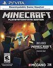 Minecraft -- PlayStation Vita Edition (Sony PlayStation Vita 2014)