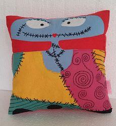 Handmade The Nightmare Before Christmas Sally Skellington Fan Art Plush Pillow…