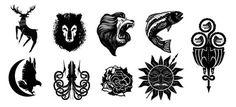 игра престолов символы домов - Поиск в Google