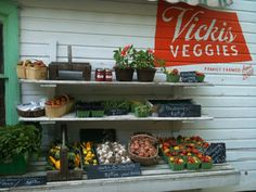 Farm Stand at Vicki's Veggies